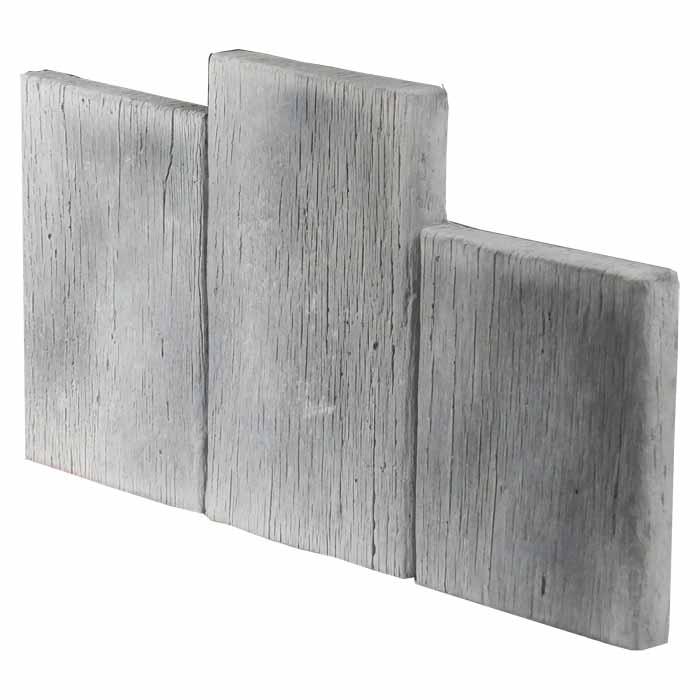 bordure pierre reconstitu e planche bois idb pierdor. Black Bedroom Furniture Sets. Home Design Ideas