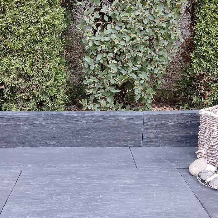 Dalle pierre reconstitu e schiste idb pierdor for Dalle terrasse pierre reconstituee